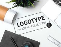 50+ High-Quality Realistic Logo Mockup Templates
