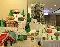 UAV Builds Gingerbread Village at the Westin LA