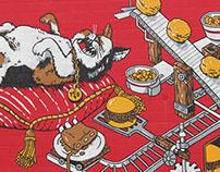 CatHead's Barbecue Mural