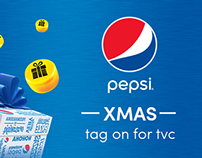Pepsi Christmas- tag on for tvc