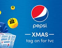Pepsi Christmas- tag on for tvc