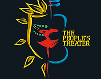 The People's Theater Logo Design