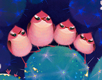 Cactus birds