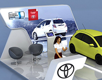 Toyota Car Stand