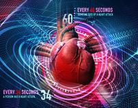 Heart Attack Prevention Illustration