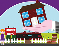 House Repossession - Infographic