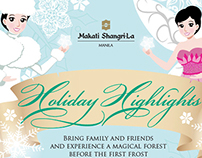 Holiday Highlights 2013 Infographic
