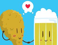 Fried Chicken + Beer = Love