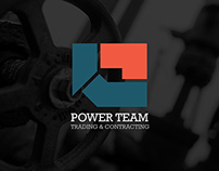 Power Team Co. Branding