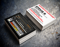 DJ Business Card Design
