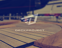"Brand Identity for yacht company ""DECKPROJECT"""