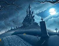 Halloween illustration series