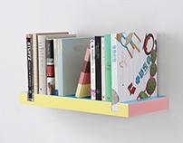 50K minimal bookshelf