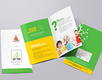 Spring Montessori - Branding