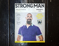 STRONG MAN MAGAZINE # 5