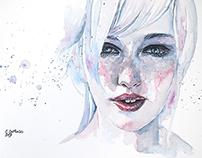 Purity - watercolors