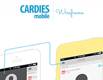 Cardies Mobile - wireframe