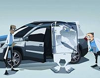Volkswagen promotion clips