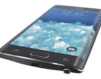 Samsung Edge Illustrations