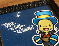 Give a little whistle! - Canvas