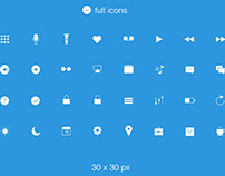Free UI Icons IOS style