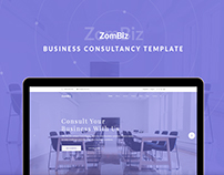 ZomBiz Business Consultancy Template
