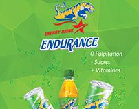 Endurance Energy Drink - Billboard Project