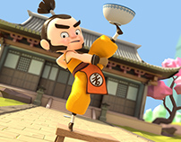 Kongfu VS Rice Kid