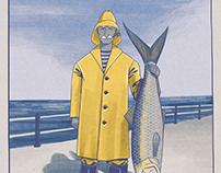 Fisherman and Herring