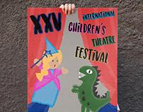 "Cartel ""XXV International Children's Theatre Festival"""