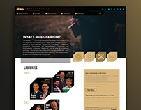 ©Mustafa Prize Website Design