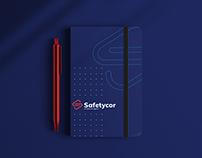 Safetycor Corretora de Seguros - Brand Design