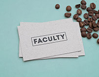 Faculty Tea & Coffee — Branding