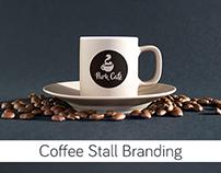 Park Café // Coffee Stall Brand Identity 2017