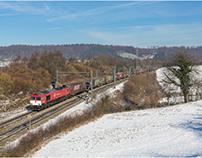 Bahnbilder Februar 2018