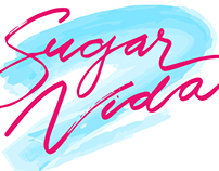 Hand Lettered Logo for Skincare Studio