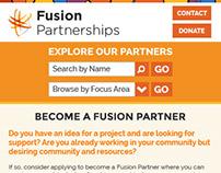 Fusion Mobile Site