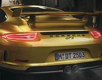 Porsche Barn CGI