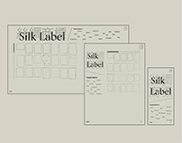 Responsive Webpage Design: Silk Labels