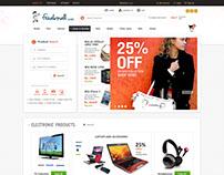 Freakmall - e-Commerce website design