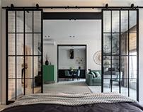 Interior photoshoot of apartments in Vozdvizhenka