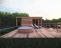 Gluchow - private sauna