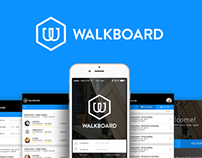 Walkboard Logo & Application