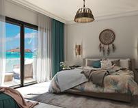 """Bedroom Design """" North coast """""""