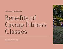 Sandra Charton   Group Fitness Benefits