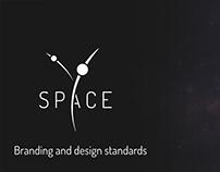 SPACE Y, logo & branding