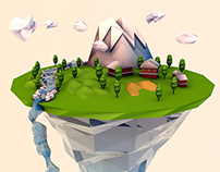 Imagination Island (Low Poly)