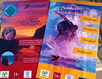Sistema de afiches publicitarios | TURISMO