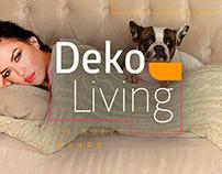 Deko Living. Rediseño de identidad.