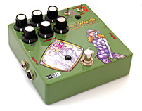 Guitar Pedal stompbox Art and graphics
